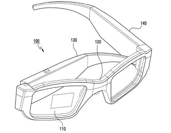 三星AR眼镜专利公开 可看出完整眼镜外观