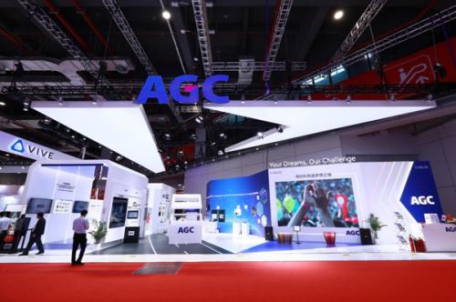 "AGC参展""进博会"",产品力爆表黑科技carry全场"
