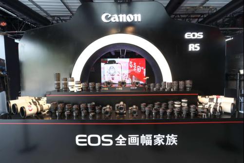 最高可实现8级防抖功能 佳能EOS R5/R6亮相广州